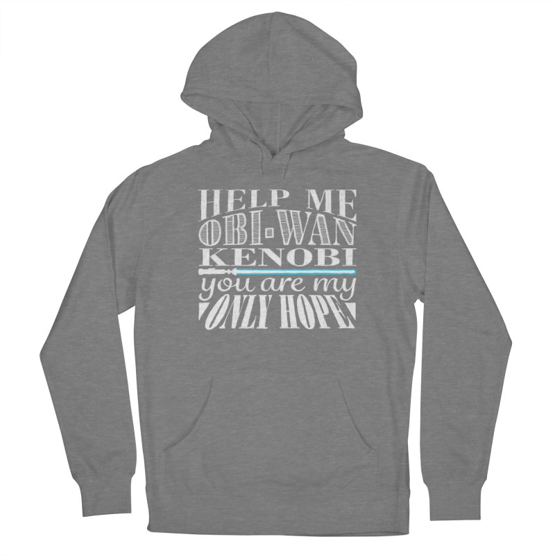 Help Me! Women's French Terry Pullover Hoody by nrdshirt's Shop