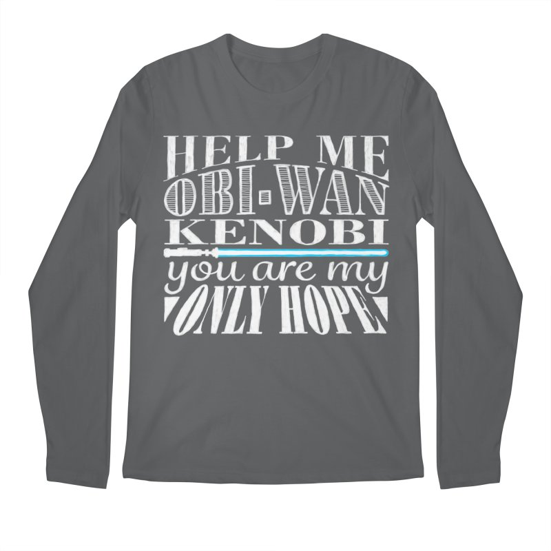 Help Me! Men's Regular Longsleeve T-Shirt by nrdshirt's Shop