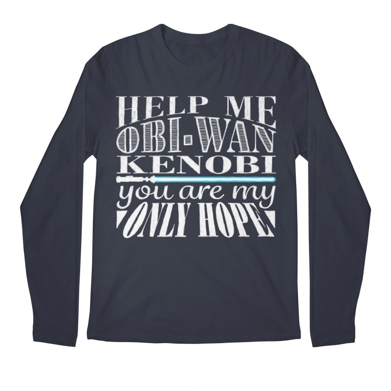 Help Me! Men's Longsleeve T-Shirt by nrdshirt's Shop