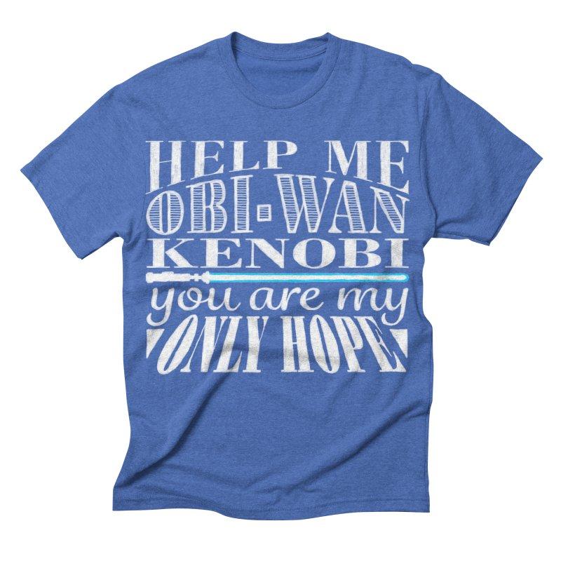 Help Me! Men's Triblend T-shirt by nrdshirt's Shop