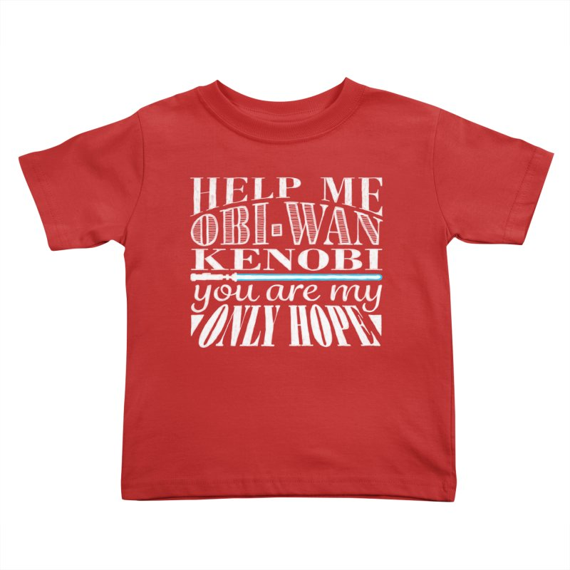 Help Me! Kids Toddler T-Shirt by nrdshirt's Shop
