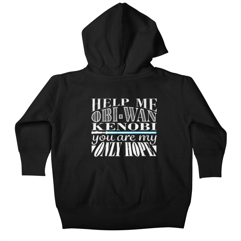 Help Me! Kids Baby Zip-Up Hoody by nrdshirt's Shop