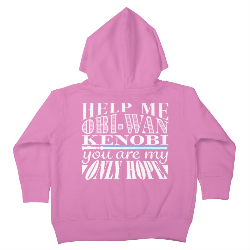 Help Me! Kids Toddler Zip-Up Hoody by nrdshirt's Shop