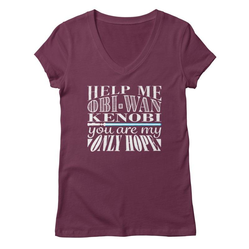 Help Me! Women's Regular V-Neck by nrdshirt's Shop