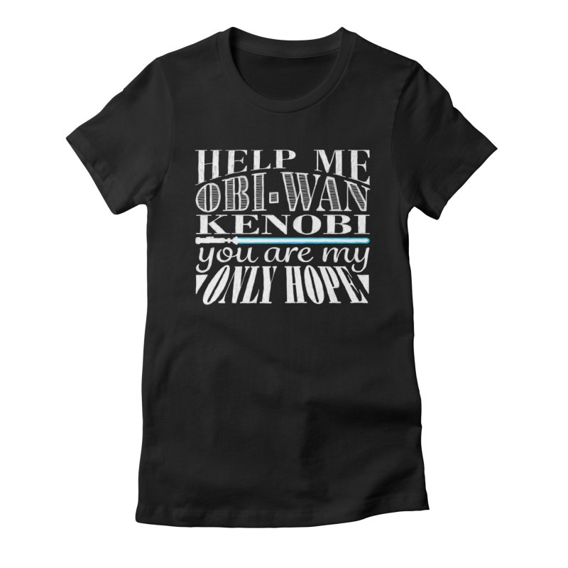 Help Me! Women's Fitted T-Shirt by nrdshirt's Shop
