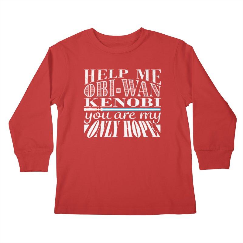 Help Me! Kids Longsleeve T-Shirt by nrdshirt's Shop