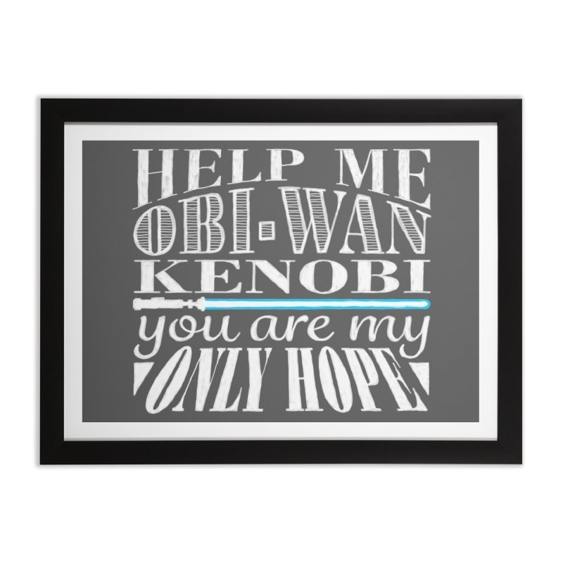 Help Me! Home Framed Fine Art Print by nrdshirt's Shop