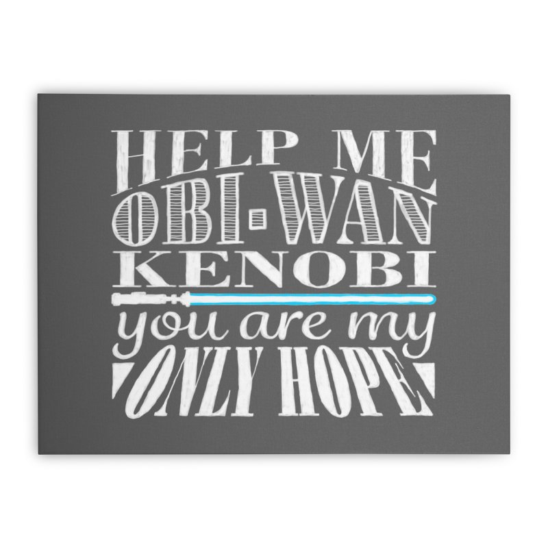 Help Me! Home Stretched Canvas by nrdshirt's Shop