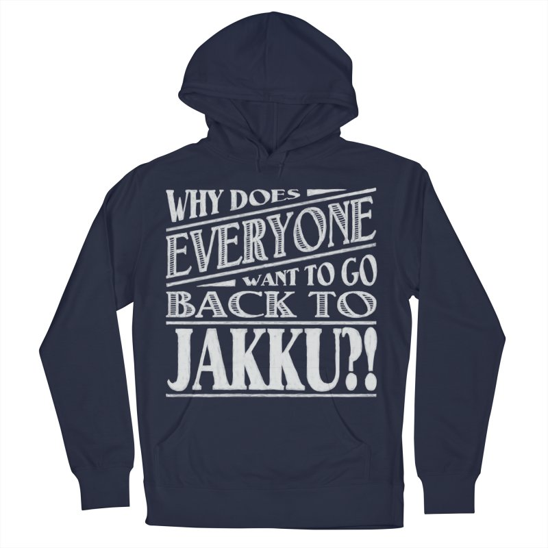 Back To Jakku Women's French Terry Pullover Hoody by nrdshirt's Shop