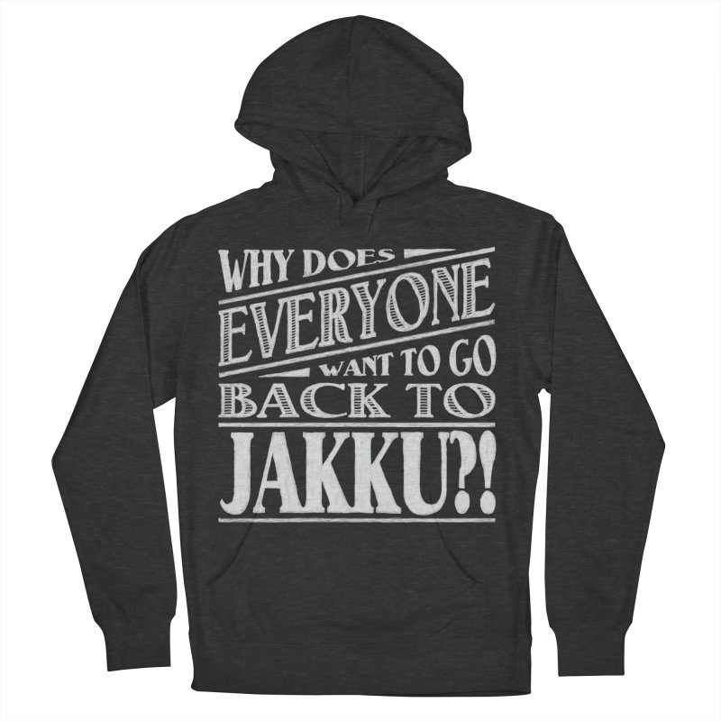 Back To Jakku Men's French Terry Pullover Hoody by nrdshirt's Shop