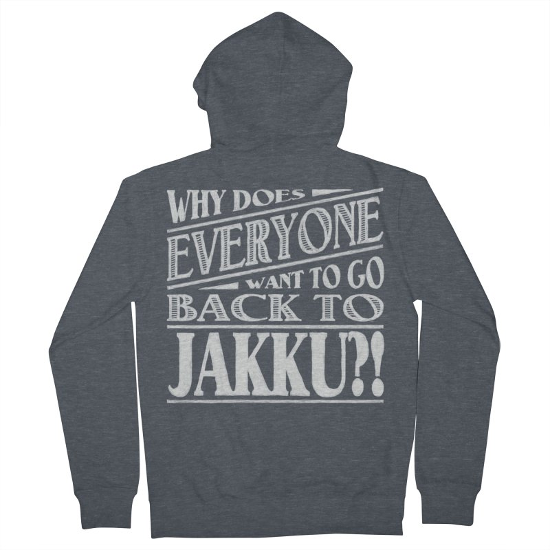 Back To Jakku Women's Zip-Up Hoody by nrdshirt's Shop