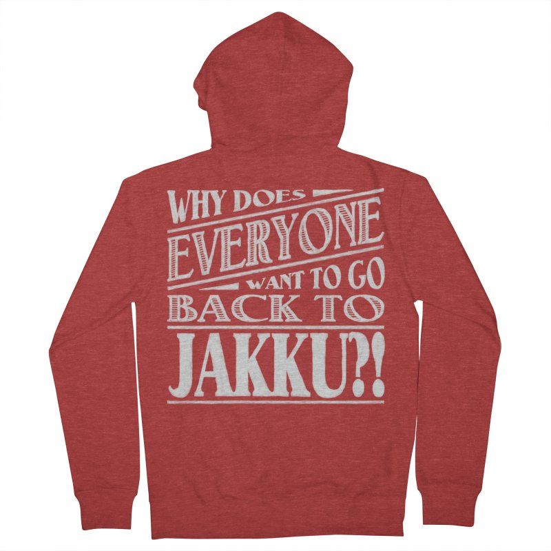 Back To Jakku Women's French Terry Zip-Up Hoody by nrdshirt's Shop