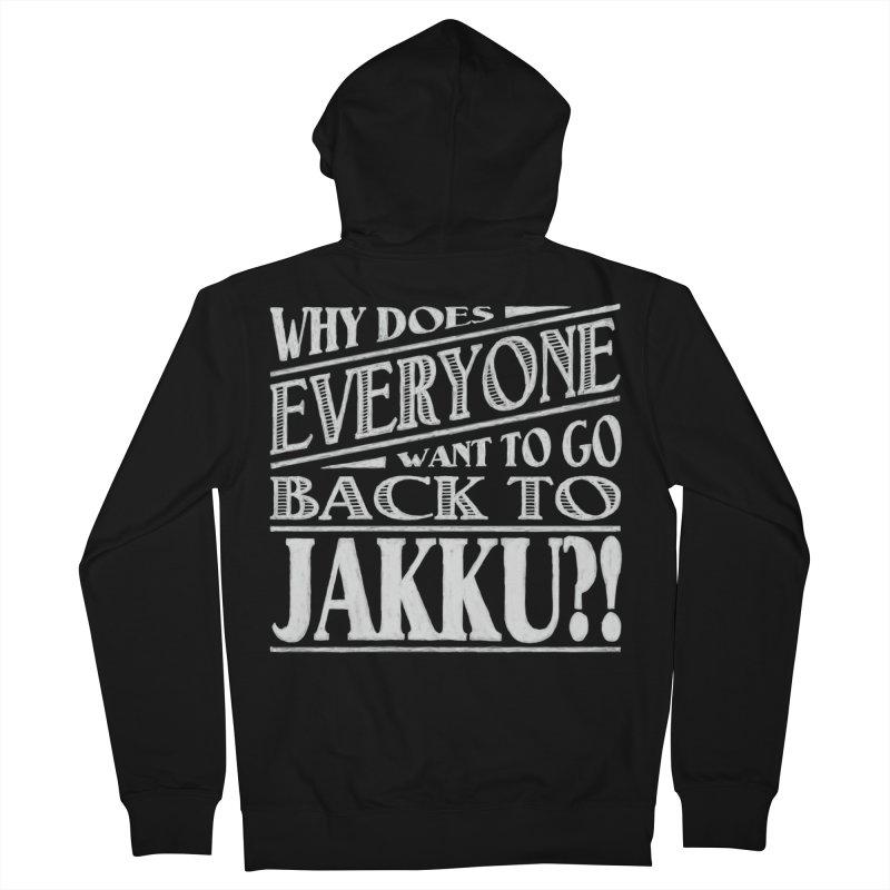 Back To Jakku Men's Zip-Up Hoody by nrdshirt's Shop