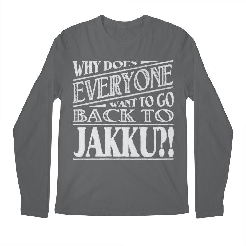 Back To Jakku Men's Regular Longsleeve T-Shirt by nrdshirt's Shop
