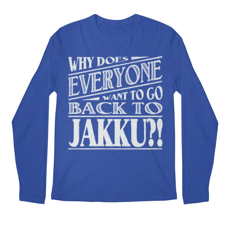 Back To Jakku Men's Regular Longsleeve T-Shirt by nrdshirt's Shop