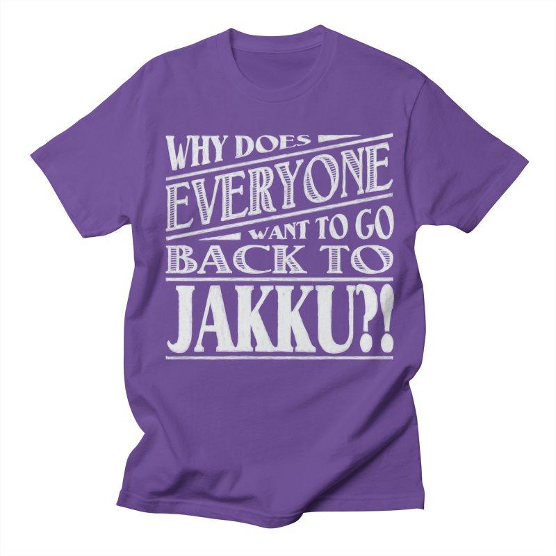 Back To Jakku Men's Regular T-Shirt by nrdshirt's Shop