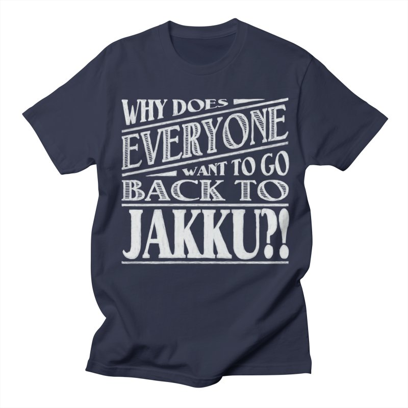 Back To Jakku Men's Regular T-Shirt by nrdshirt's Shop