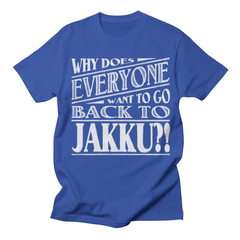 Back To Jakku Men's T-Shirt by nrdshirt's Shop