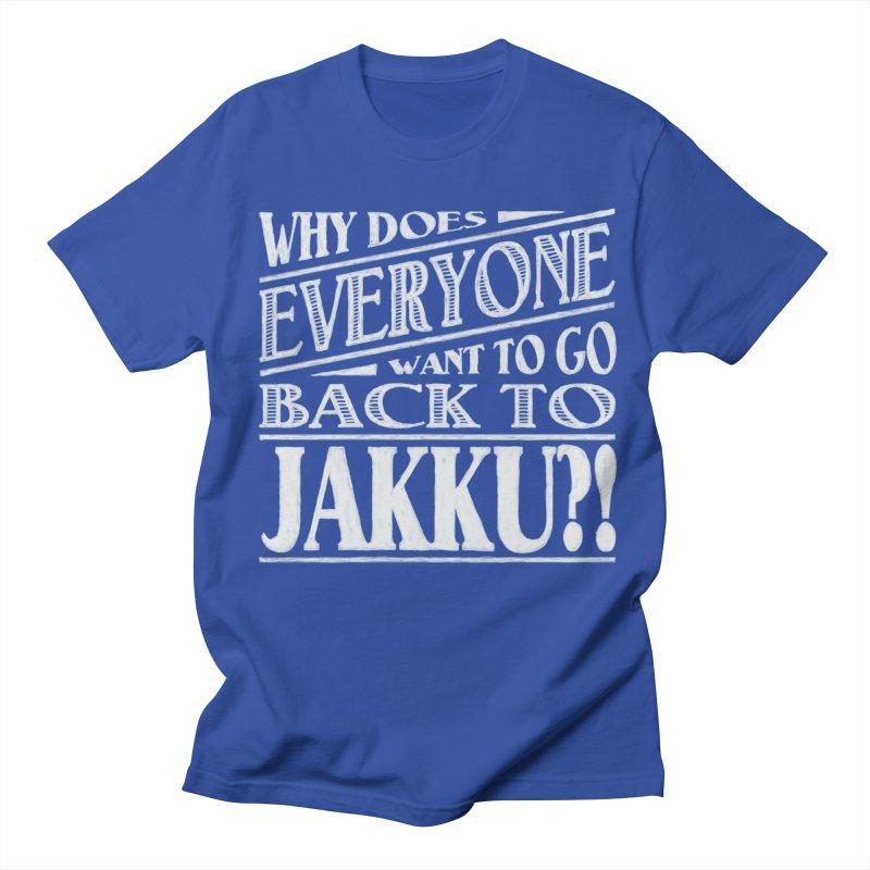 Back To Jakku Men's T-shirt by nrdshirt's Shop