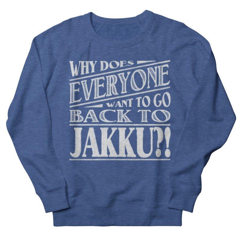 Back To Jakku Women's French Terry Sweatshirt by nrdshirt's Shop