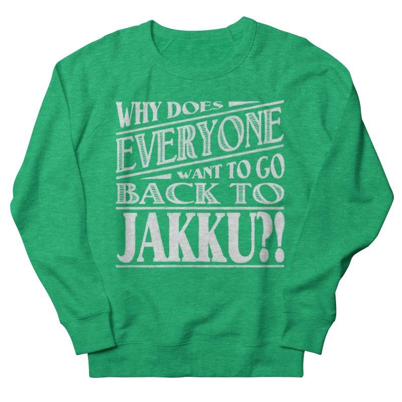 Back To Jakku Men's French Terry Sweatshirt by nrdshirt's Shop