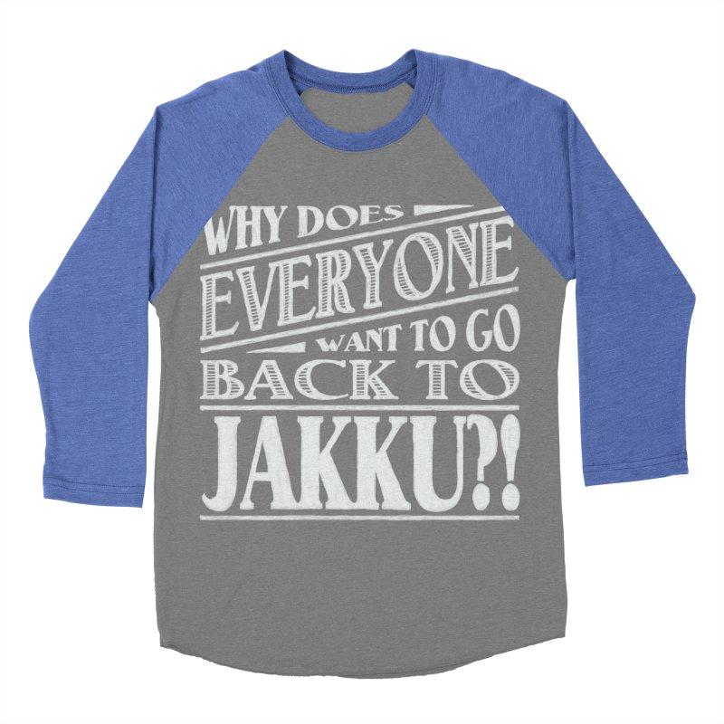 Back To Jakku Women's Baseball Triblend Longsleeve T-Shirt by nrdshirt's Shop