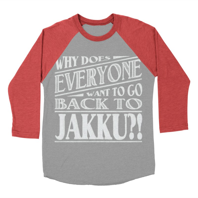 Back To Jakku Men's Baseball Triblend T-Shirt by nrdshirt's Shop