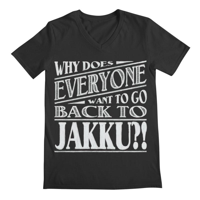 Back To Jakku Men's V-Neck by nrdshirt's Shop