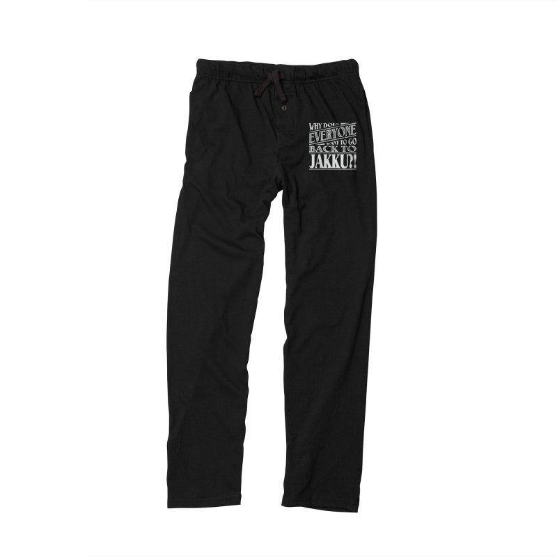 Back To Jakku Men's Lounge Pants by nrdshirt's Shop