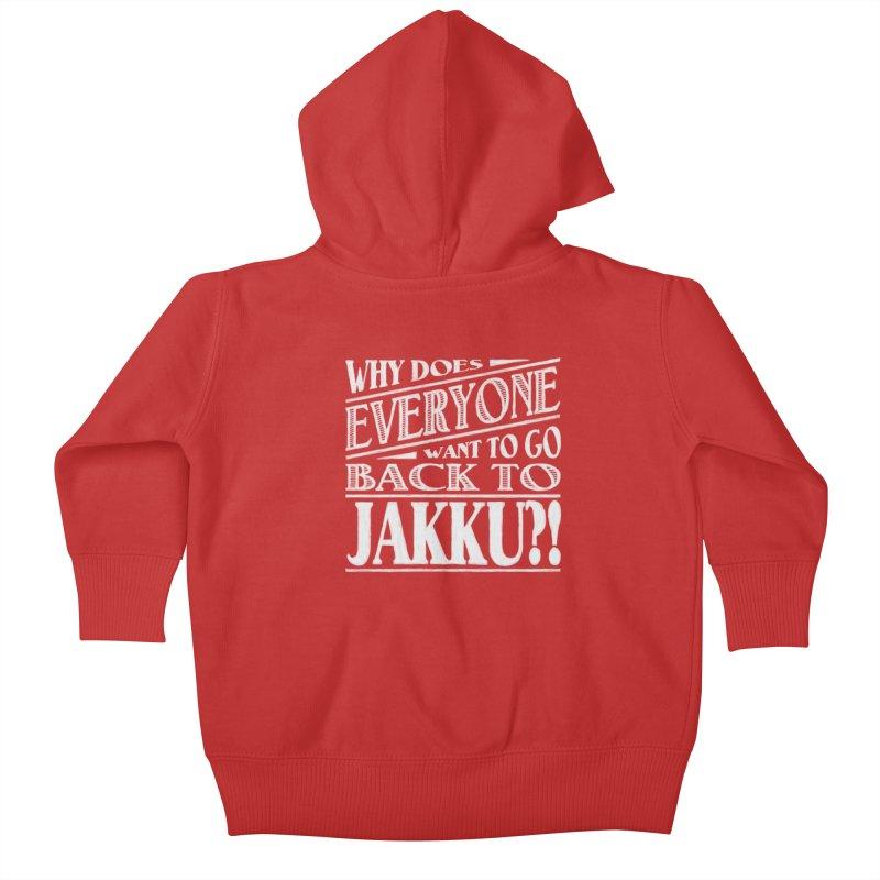Back To Jakku Kids Baby Zip-Up Hoody by nrdshirt's Shop