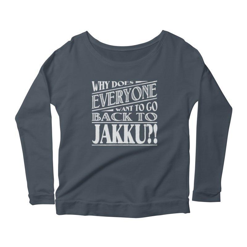 Back To Jakku Women's Scoop Neck Longsleeve T-Shirt by nrdshirt's Shop