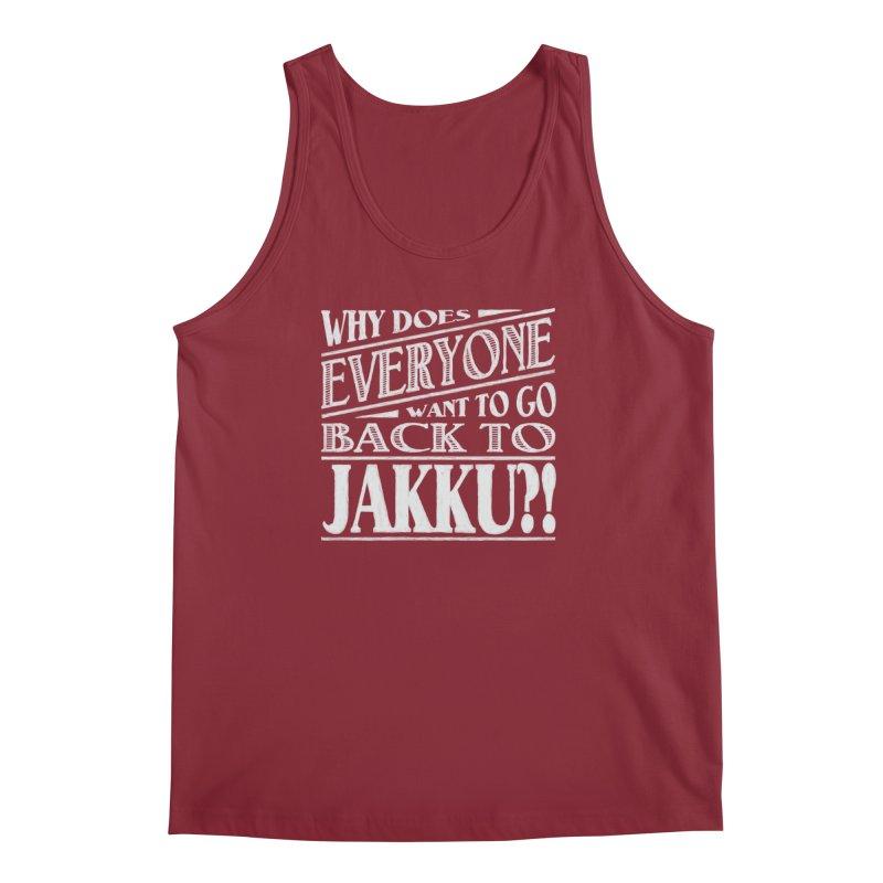 Back To Jakku Men's Regular Tank by nrdshirt's Shop