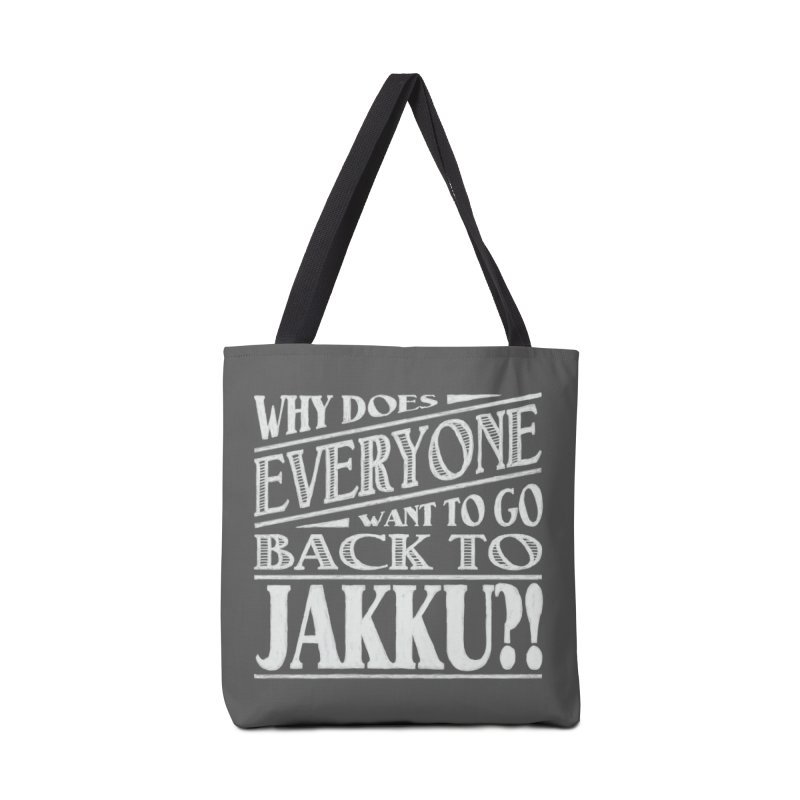 Back To Jakku Accessories Tote Bag Bag by nrdshirt's Shop