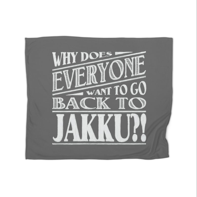 Back To Jakku Home Fleece Blanket Blanket by nrdshirt's Shop
