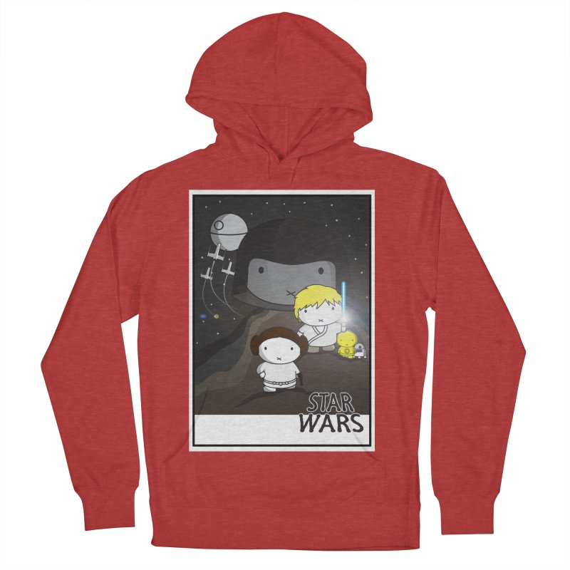 Mini Wars Ep IV Men's French Terry Pullover Hoody by nrdshirt's Shop