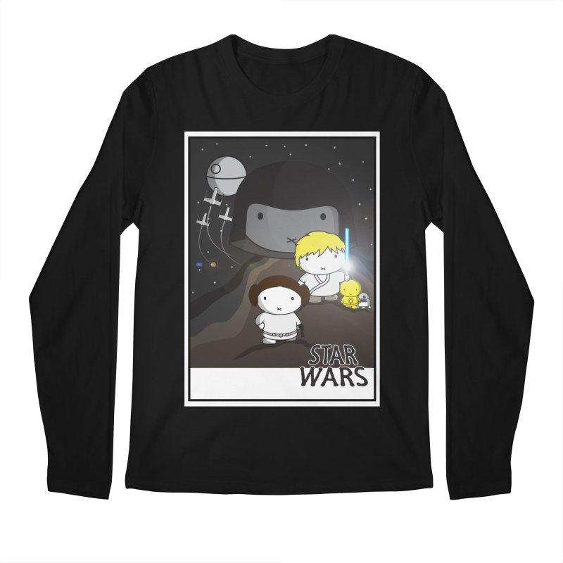 Mini Wars Ep IV Men's Longsleeve T-Shirt by nrdshirt's Shop