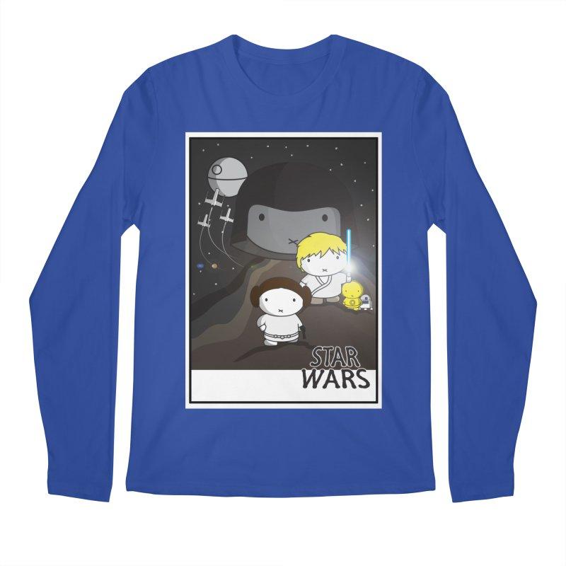 Mini Wars Ep IV Men's Regular Longsleeve T-Shirt by nrdshirt's Shop