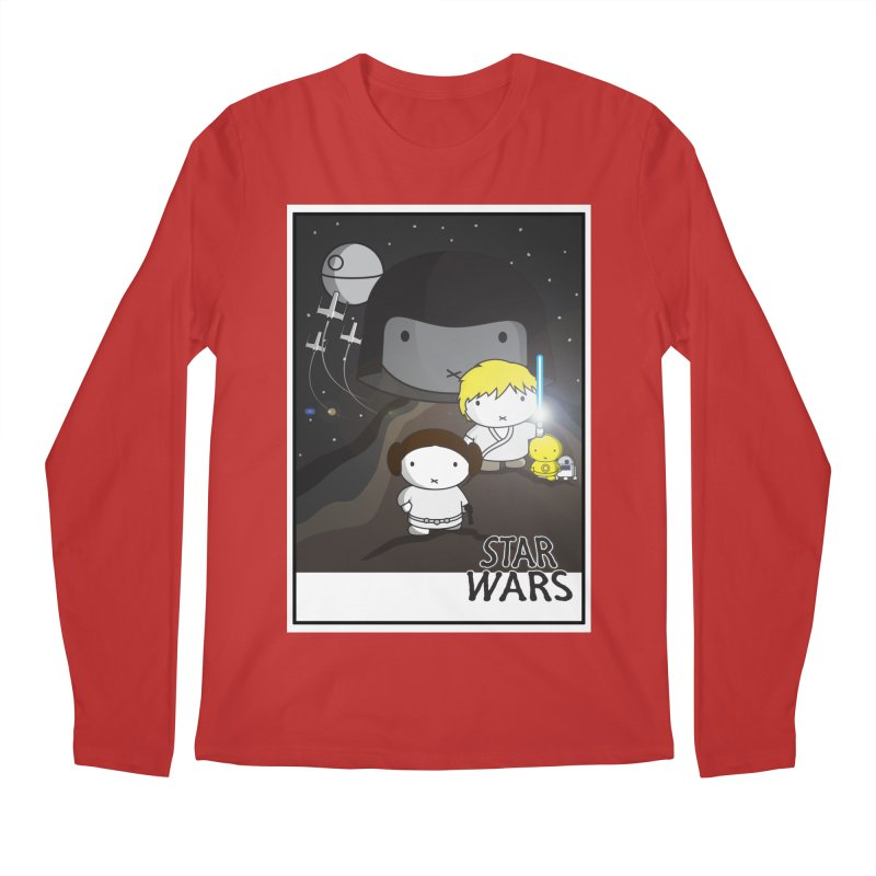 Mini Wars Ep IV Men's Longsleeve T-Shirt by nrdshirt's Shop