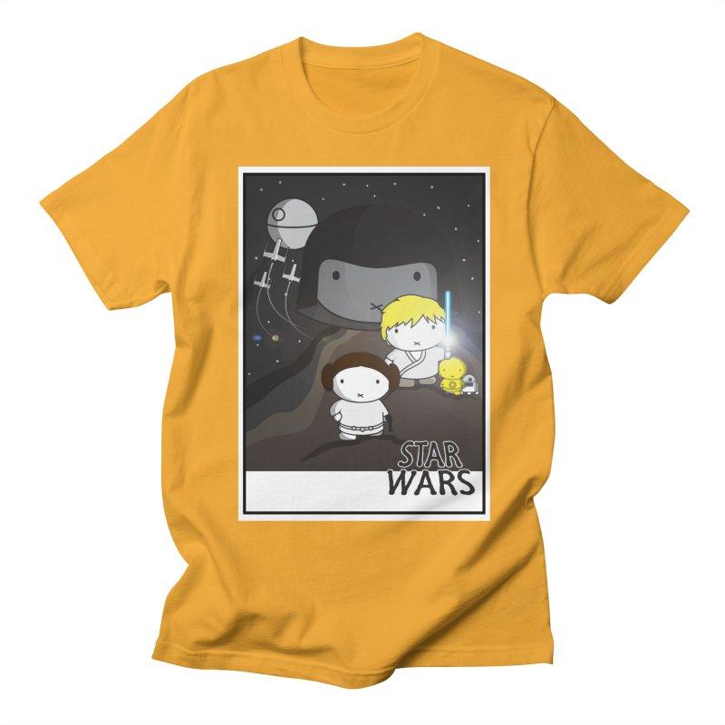 Mini Wars Ep IV Men's Regular T-Shirt by nrdshirt's Shop