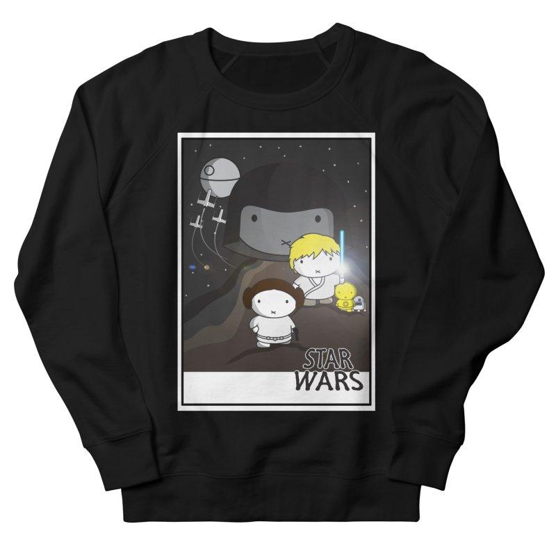 Mini Wars Ep IV Men's French Terry Sweatshirt by nrdshirt's Shop