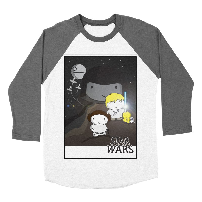 Mini Wars Ep IV Women's Baseball Triblend Longsleeve T-Shirt by nrdshirt's Shop