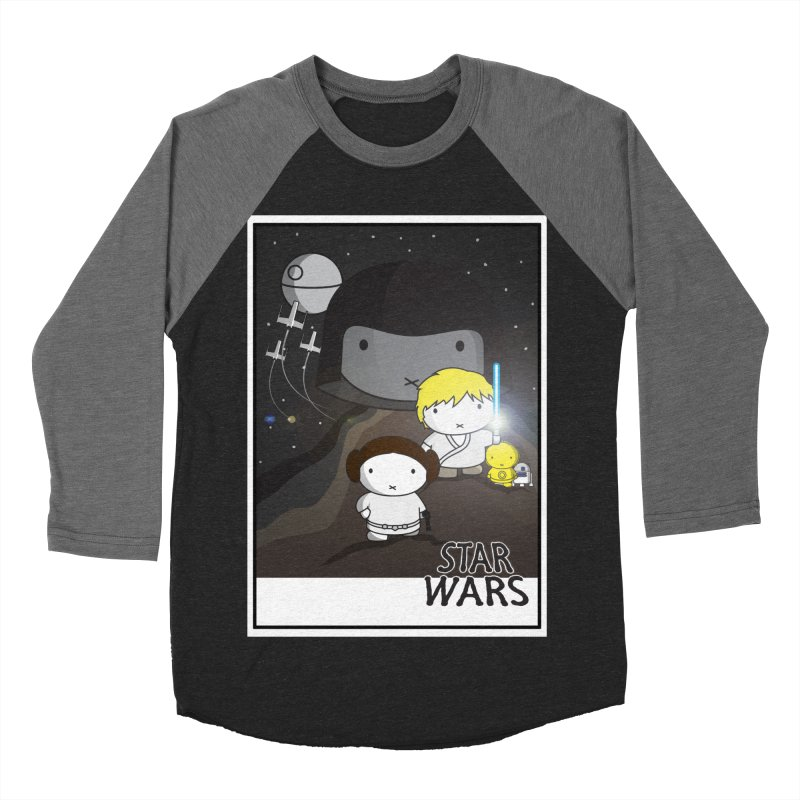Mini Wars Ep IV Men's Baseball Triblend Longsleeve T-Shirt by nrdshirt's Shop