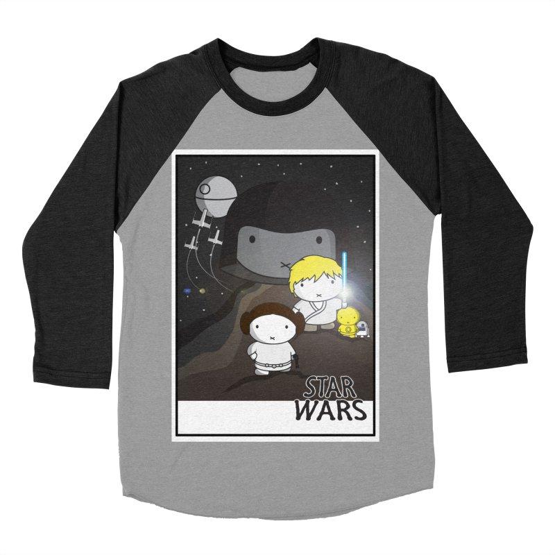 Mini Wars Ep IV Men's Baseball Triblend Longsleeve T-Shirt by nrdshirt's Shop