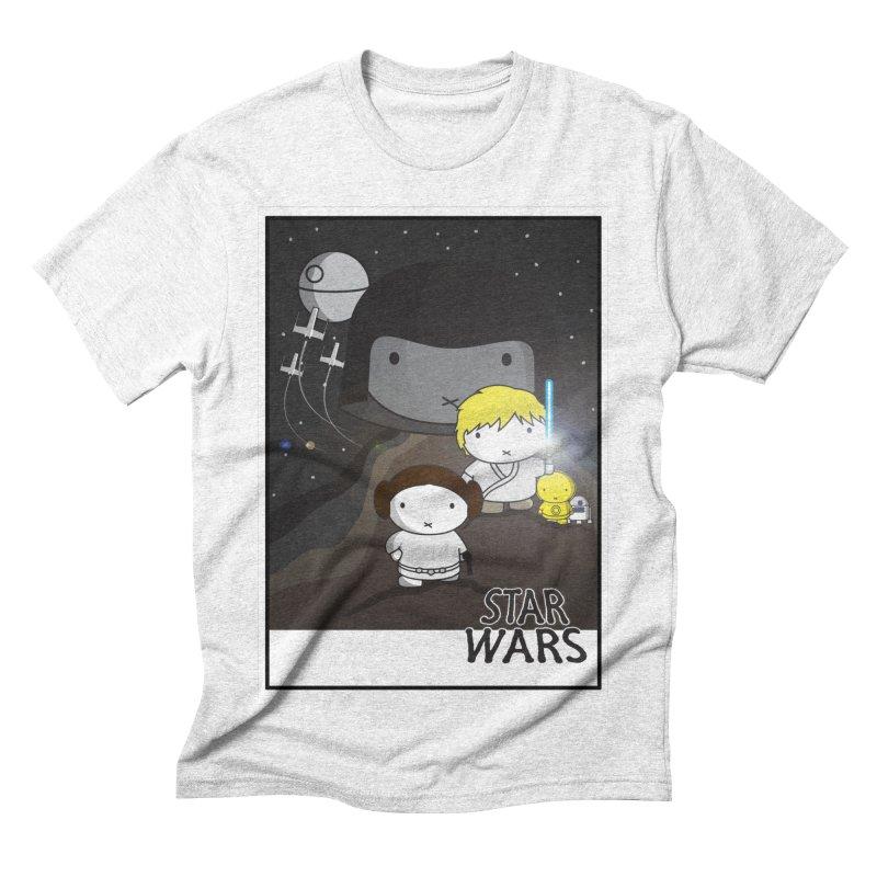 Mini Wars Ep IV Men's Triblend T-shirt by nrdshirt's Shop