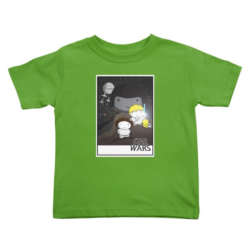 Mini Wars Ep IV Kids Toddler T-Shirt by nrdshirt's Shop