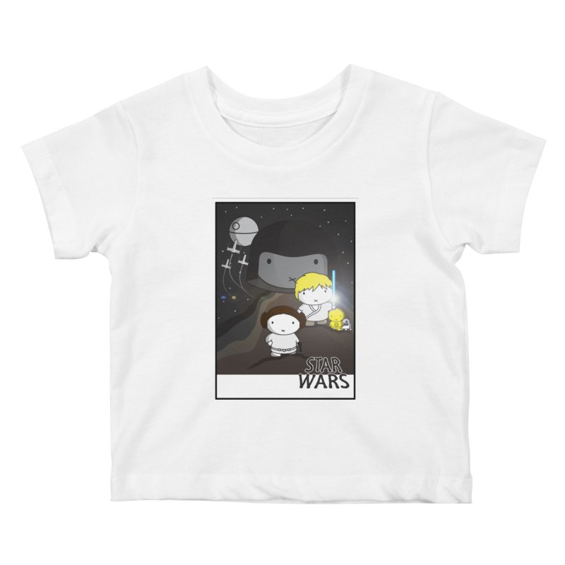 Mini Wars Ep IV Kids Baby T-Shirt by nrdshirt's Shop