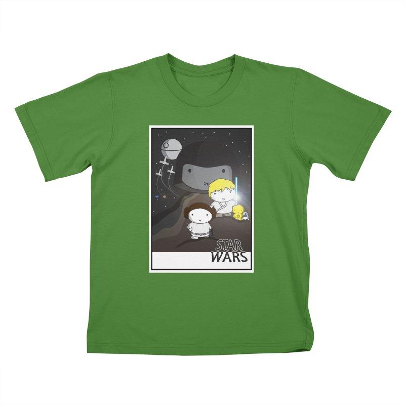 Mini Wars Ep IV Kids T-shirt by nrdshirt's Shop
