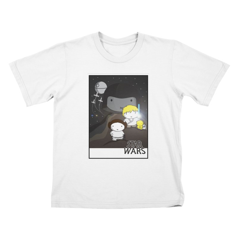 Mini Wars Ep IV Kids T-Shirt by nrdshirt's Shop