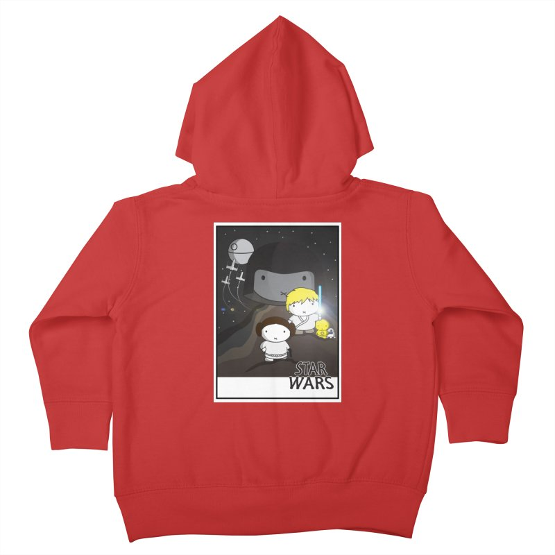 Mini Wars Ep IV Kids Toddler Zip-Up Hoody by nrdshirt's Shop