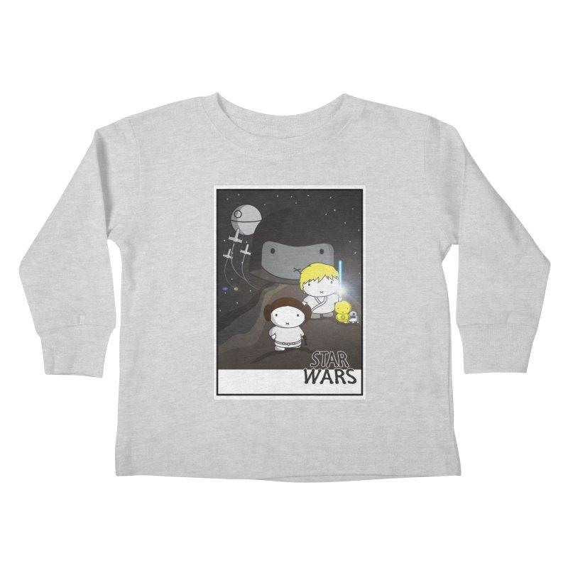 Mini Wars Ep IV Kids Toddler Longsleeve T-Shirt by nrdshirt's Shop